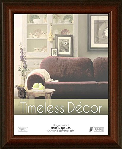 Huntley Woods - Timeless Expressions Huntley Wall Frame, 11 x 14, Walnut