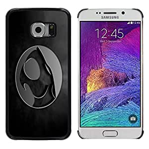 TECHCASE**Cubierta de la caja de protección la piel dura para el ** Samsung Galaxy S6 EDGE SM-G925 ** Crest