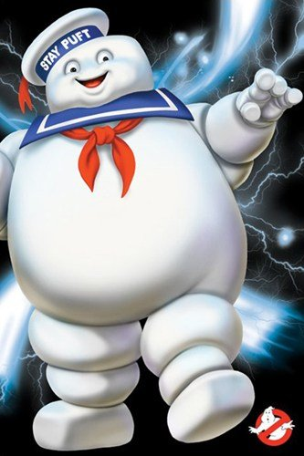 Ghostbusters - Stay Puft Poster Print