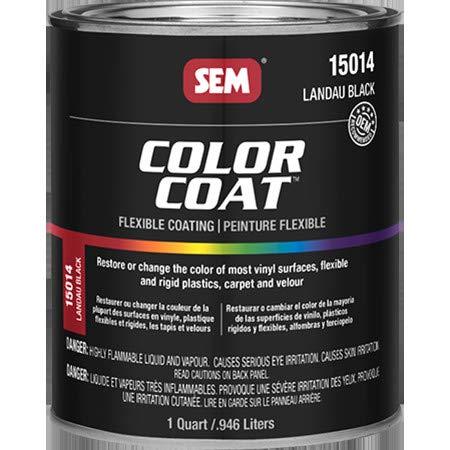 - SEM 15014 Landau Black Color Coat - 1 Quart