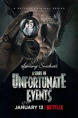 PremiumPrints - A Series of Unfortunate Events TV Series Show Poster - XTVS016 Premium Canvas 11