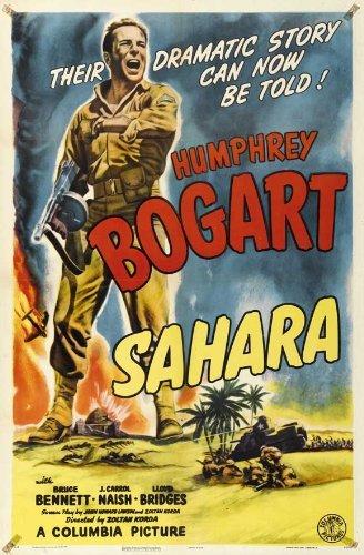 Sahara POSTER Movie (27 x 40 Inches - 69cm x 102cm) (1943) (Style B) Sahara Movie Poster
