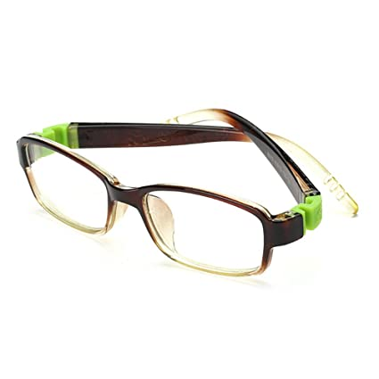 e164bb77e98 Fantia Kids Eyeglass Frame Children Soft Non-optical Frames Clear Lens  (c6