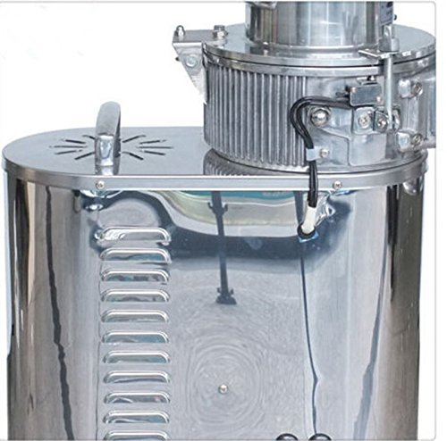 Cyana TOP NEW 40kg/h Automatic Floor-standing Continuous Hammer Mill Herb Grinder Pulverizer by Cyanalab Shop (Image #2)