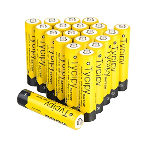 Tycipy 1000mAh Rechargeable Ni MH Batteries product image