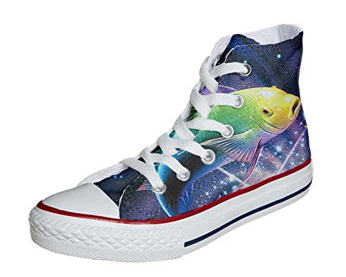 Converse All Star Customized - zapatos personalizados (Producto Artesano) Sushi