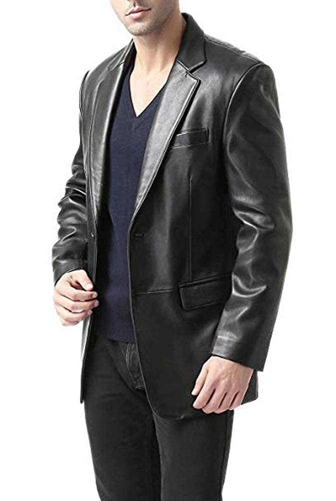 Cloudberry Black Genuine Lambskin Leather Jacket for Men Motorcycle /& Biker Mens Leather Jackets