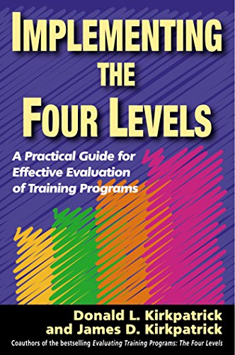 Training Program Level (Implementing the Four Levels: A Practical Guide for Effective Evaluation of Training Programs)
