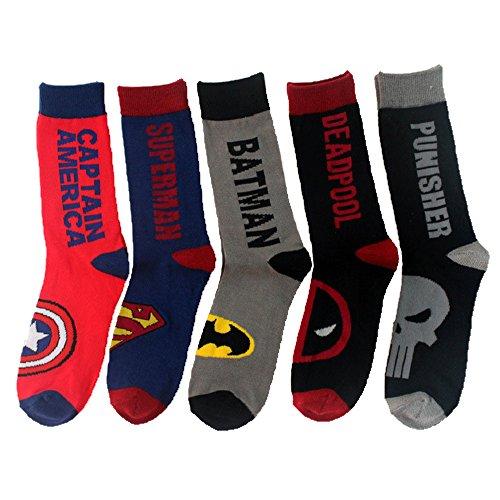 captain america dress socks - 4