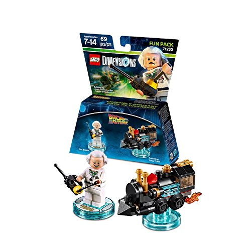 Back to the Future Doc Brown Fun Pack - LEGO Dimensions -