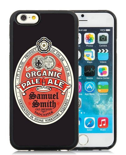 Pale Organic Ale (Samuel Smith Organic Pale Ale Black Phone Case for iPhone 6S 4.7 Inch,iPhone 6 TPU Case)