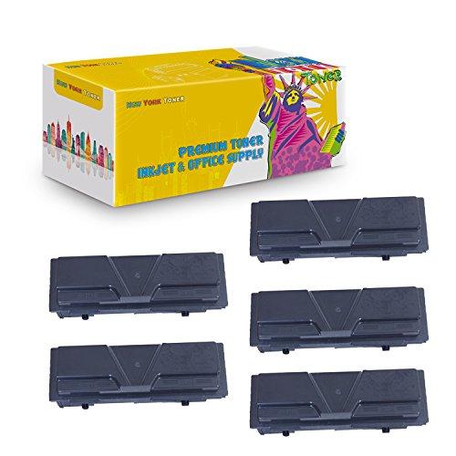 New York TonerTM New Compatible 5 Pack TK140 TK142 TK144 High Yield Toner for Kyocera-Mita - FS 1100   1100N . -- Black