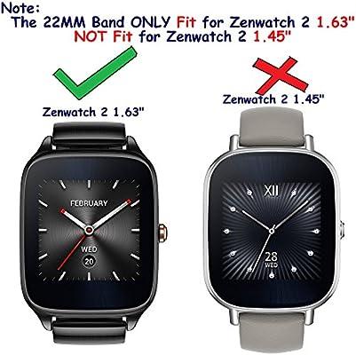 Para Asus Zenwatch/2 ZenWatch Metal bandas, ruentech repuesto ...
