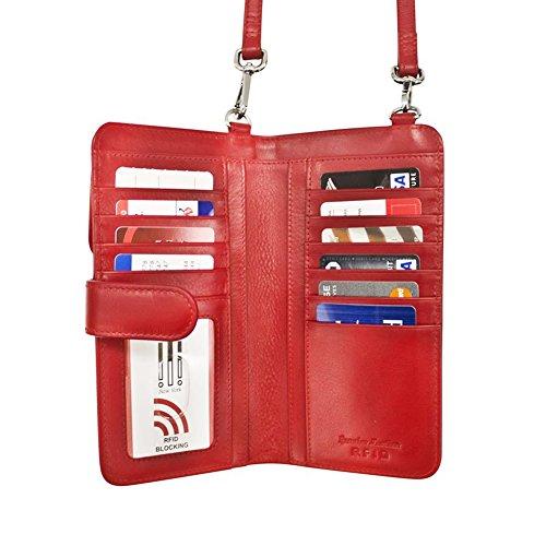 body Cross ili Toffee 6363 Smartphone Leather Organizer nvqwpwRIf