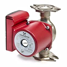 Grundfos 98961762 Ups26-99bf Stainless Steel Circulator Pump, 1/6 Hp, 115v
