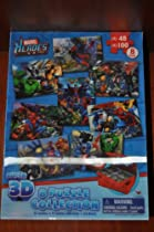 Marvel Heroes: 8 Puzzle Collection 3D w/ easy storage box