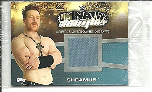 2010 Topps Topps WWE Elimination Chamber Canvas #EC2 Sheamus NM-MT MEM from Topps WWE