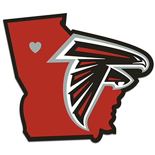 NFL Atlanta Falcons Home State Decal, 5