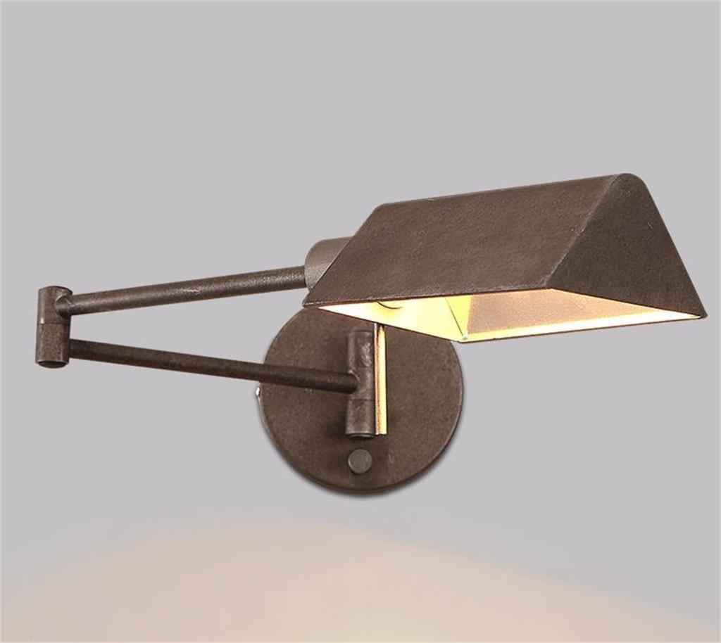 HOME UK-lampada da parete del retro ferro industriale lampada da parete del soggiorno reative personalità