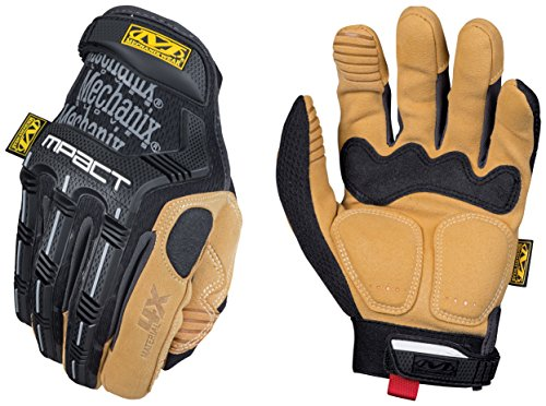 Mechanix Wear - Material4X M-Pact Work Gloves (Small, Brown/Black) ()