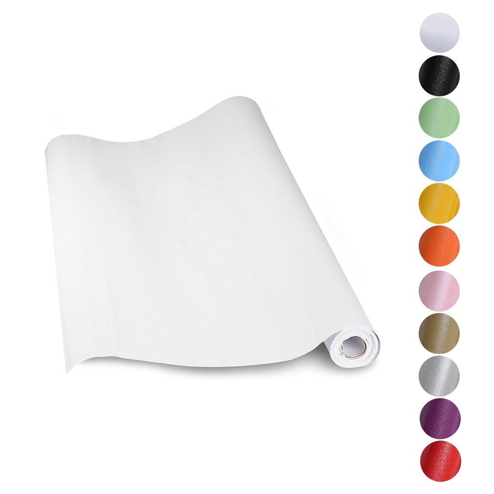 KINLO® Aufkleber Küchenschränke weiß 61x500cm aus hochwertigem PVC ...