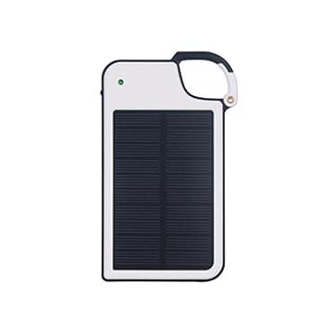 UxradG Cargador Solar Portátil 4050mAh USB Llavero Solar ...