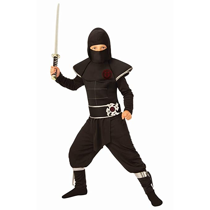 Amazon.com: Ninja Assassin Boys Costume: Clothing