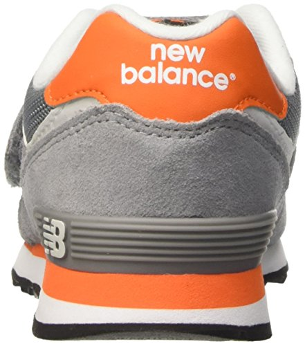 New Balance Nbkv574p1p - Zapatillas Unisex niños Gris / Naranja
