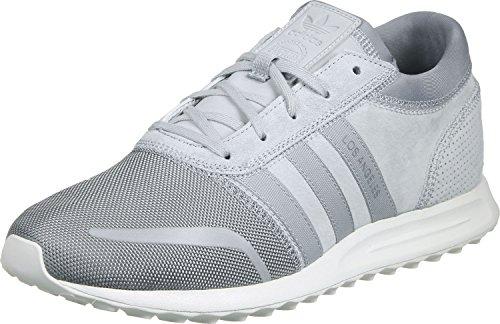 adidas Los Angeles - Scarpe da Ginnastica Basse Unisex - Adulto Grey And White