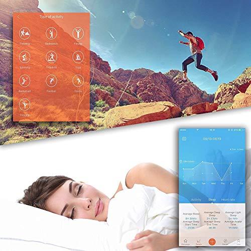 Pro-Fit Active VeryFitPro Fitness Tracker IP67 Waterproof Activity Tracker Heart Rate Sleep Monitor (Dark Blue) 5