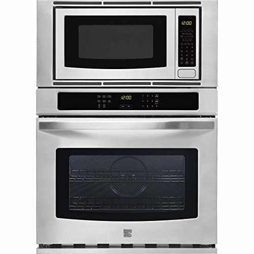Kenmore 49603 27″ Microwave Wall Ovan Combination, Stainless Steel