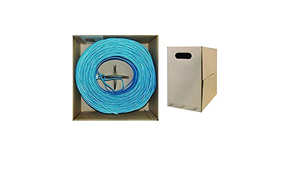 Stranded Pullbox 1pk Blue ACCL 1000ft Cat6 UTP Ethernet Cable