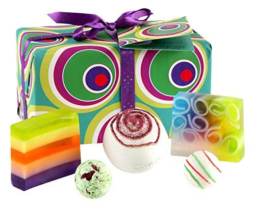 Bomb Cosmetics Funkadelic Handmade Wrapped Gift Pack Contains 5Pieces 420g