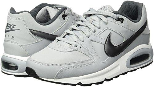 Command Dark Corsa Scarpe Da wolf black Grey Grigio Grey Max Air white Leather Nike 012 Uomo mtlc Enpgqf