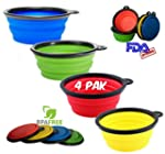 Premium Collapsible Dog Bowls * Set o...
