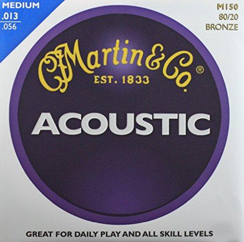 MARTIN 80/20 Bronze Standard Acoustic Guitar Strings Set ...