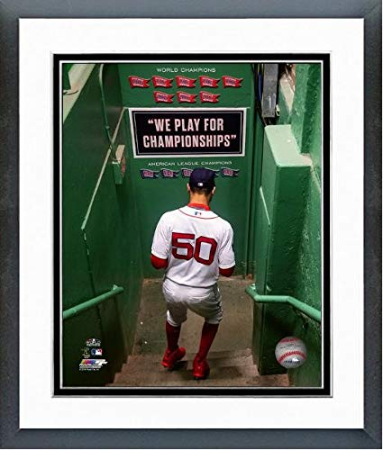 Mookie Betts Boston Red Sox 2018 MLB World Series Action Photo (Size: 12.5