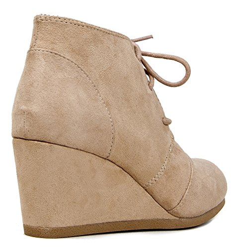 Light Classified Rex Womens Taupe City Wedges zwY8gRqxvv