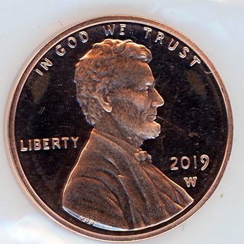 - 2019 W Lincoln In OGP Cent Deep Cameo Proof US Mint