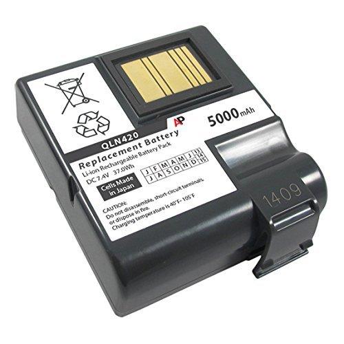 Replacement Batteries Zebra - Artisan Power Zebra QLn420 Printer: Replacement Battery. 5000 mAh