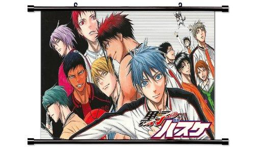 Kuroko No Basket Anime Fabric Wall Scroll Poster (32