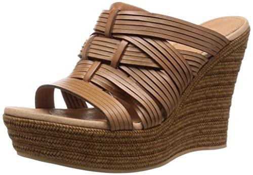 Zapatos Mujer Cuñas Plataformas Ugg Melinda Cuero CUERO