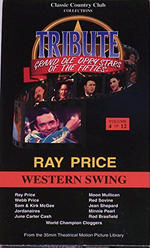 (Grand Ole Opry Stars of the '50s : Vol. 4, Ray Price Western Swing [VHS])