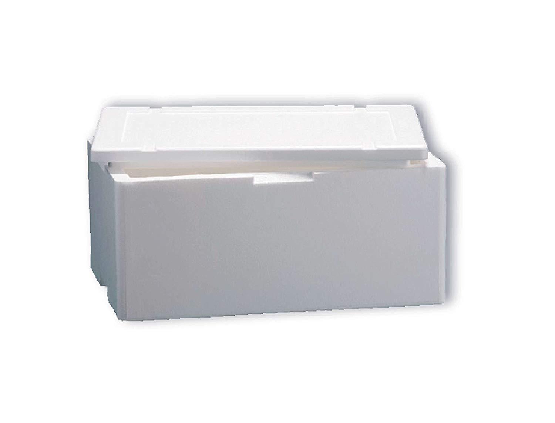 Caja térmica de poliestireno, blanca, rectangular, de 50 cm x 30 ...