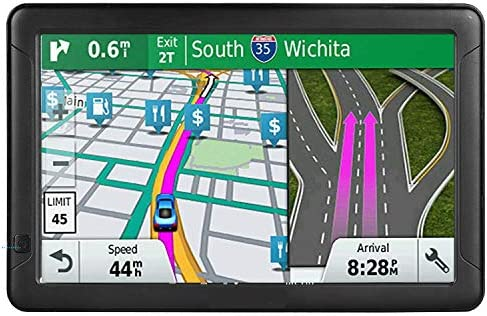 Car GPS Navigation, 9-inch high-Definition Touch Screen 8GB-256MB, Voice Steering Route Guide, Speed Limit Reminder, Free Lifetime map Update (9-inch 2020 map)