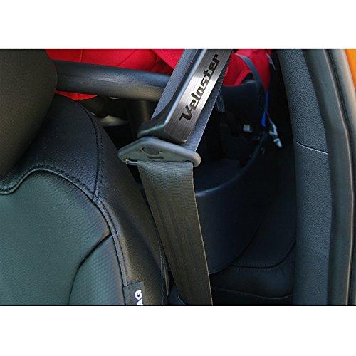 Acrílico cinturón punto guarniciones Metal hair-line para 2011 - 2015 Hyundai Veloster/Turbo: Amazon.es: Coche y moto