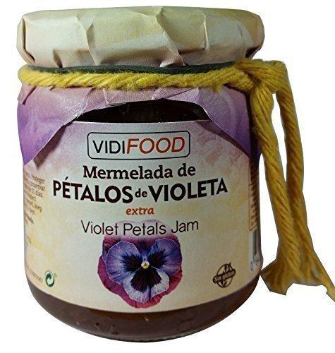 10 opinioni per Confettura Extra di Petali di Viola Artigianale- 210 g- All'Origine Spagnola-