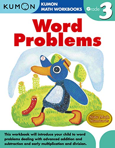 Word Problems (Kumon Math Workbooks Grade 3) (Addition And Subtraction Word Problems Grade 4)
