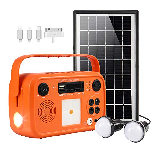 ECOBOXX DC AC Outlet Portable Battery Power Station, 150Wh Solar Generator with 1xUSBC for PD Charging, 1xQC3.0, 2xRegular USB, 1xPolarized AC Outlet for Home use, Camping, Emergency, Travel, RV