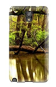 Anti-scratch And Shatterproof Tree Earth Nature Tree Phone Case For Galaxy Note 3/ High Quality Tpu Case